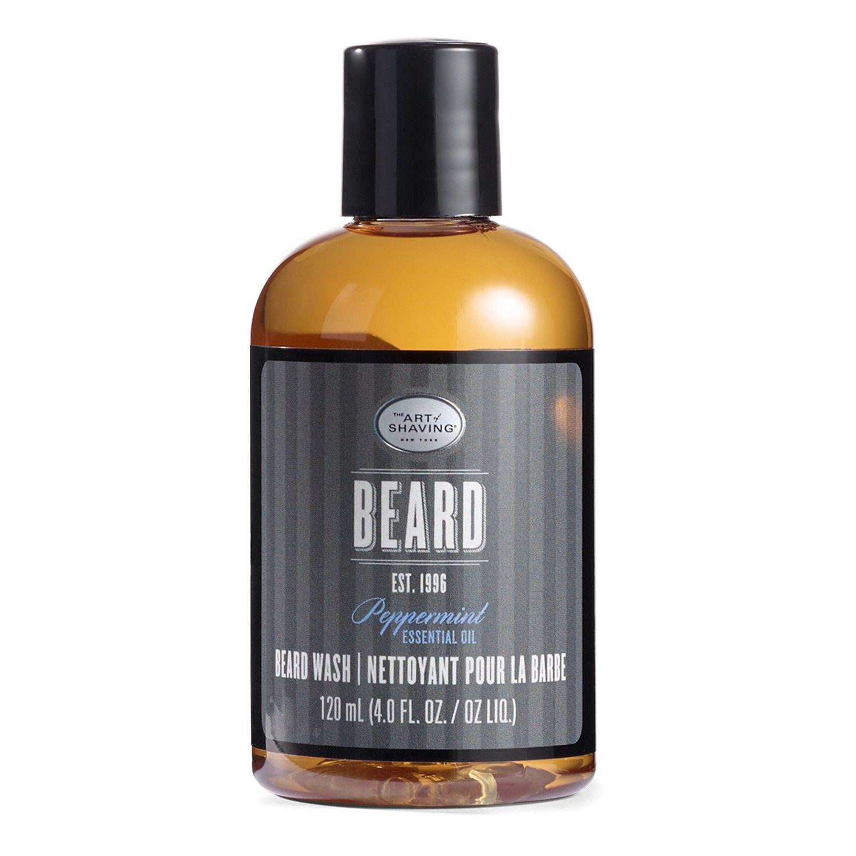 The Art of Shaving BEARD WASH Peppermint ESSENTIAL OIL (120 ml / 4.0 fl oz)
