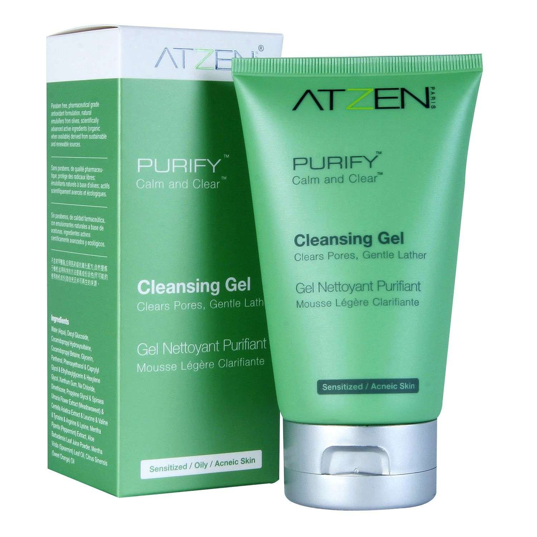 ATZEN PURIFY Calm and Clear Cleansing Gel (90 ml / 3.0 fl oz)