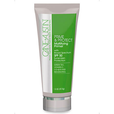Cane + Austin PRIME & PROTECT Mattifying Primer with Broad Spectrum SPF 50 (1.5 oz / 42.5 g)