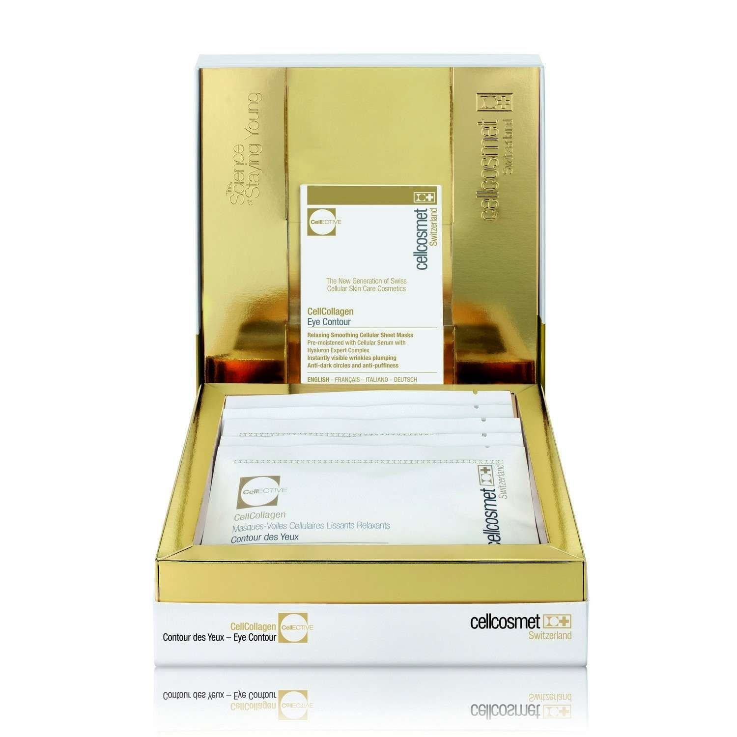 cellcosmet CellCollagen Eye Treatment Mask (5 treatments)