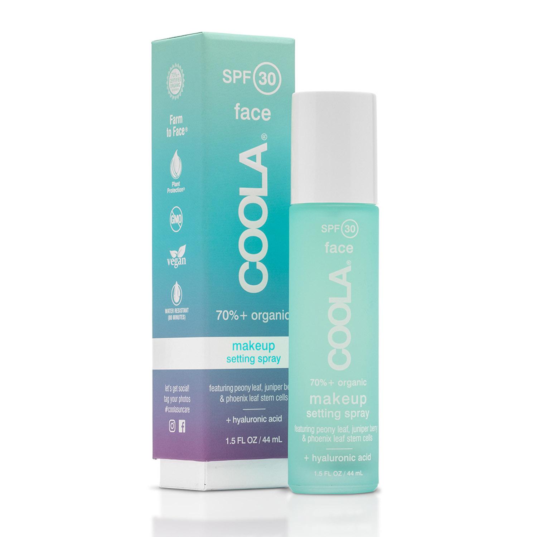 Sunscreen face spray