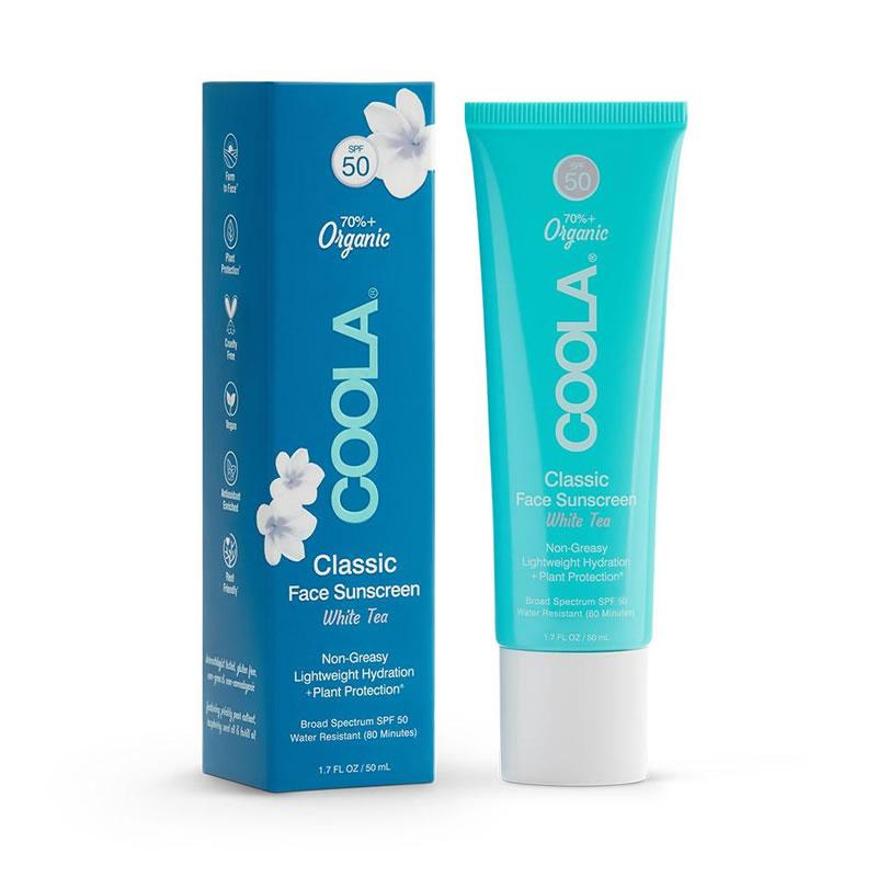 COOLA spf 50 classic face sport - White Tea (1.7 fl oz / 50 ml)