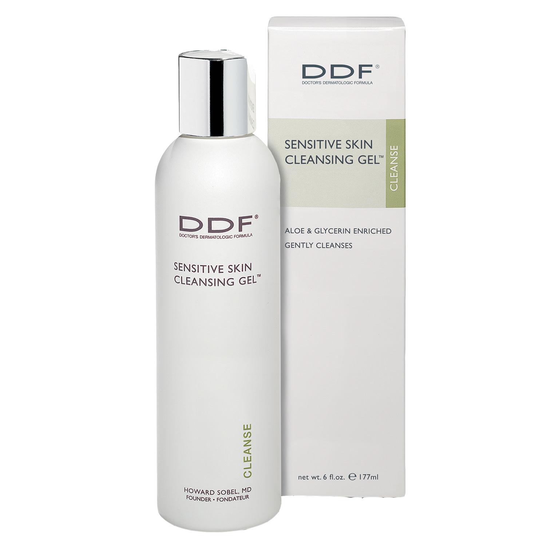 DDF SENSITIVE SKIN CLEANSING GEL (6.0 fl oz / 177 ml)