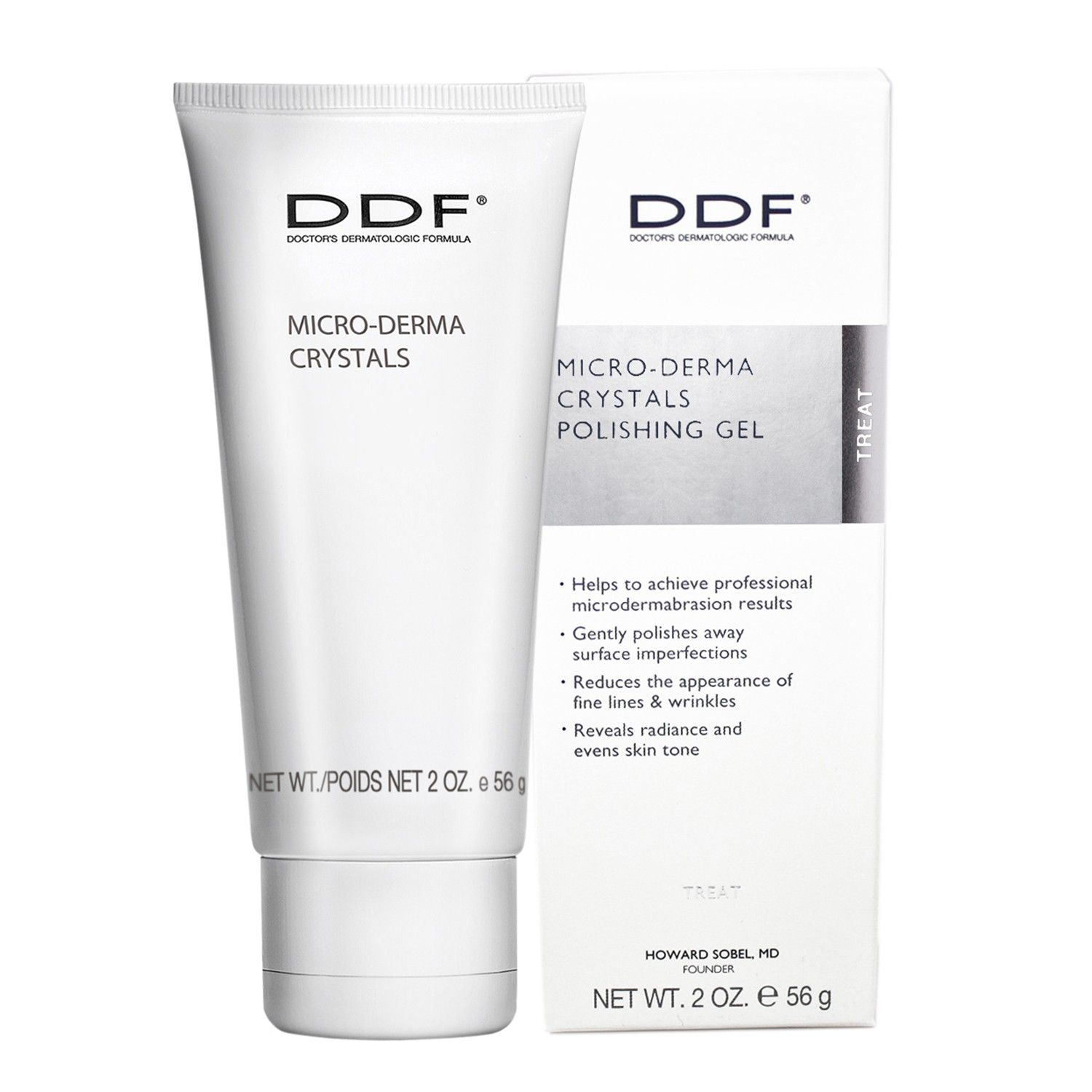 DDF MICRO-DERMA CRYSTALS POLISHING GEL (2.0 oz / 56 g)