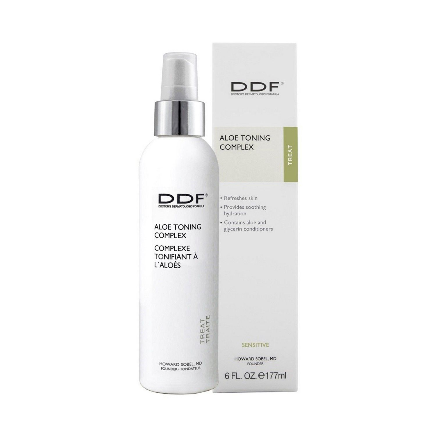 DDF ALOE TONING COMPLEX (6.0 fl oz / 177 ml)