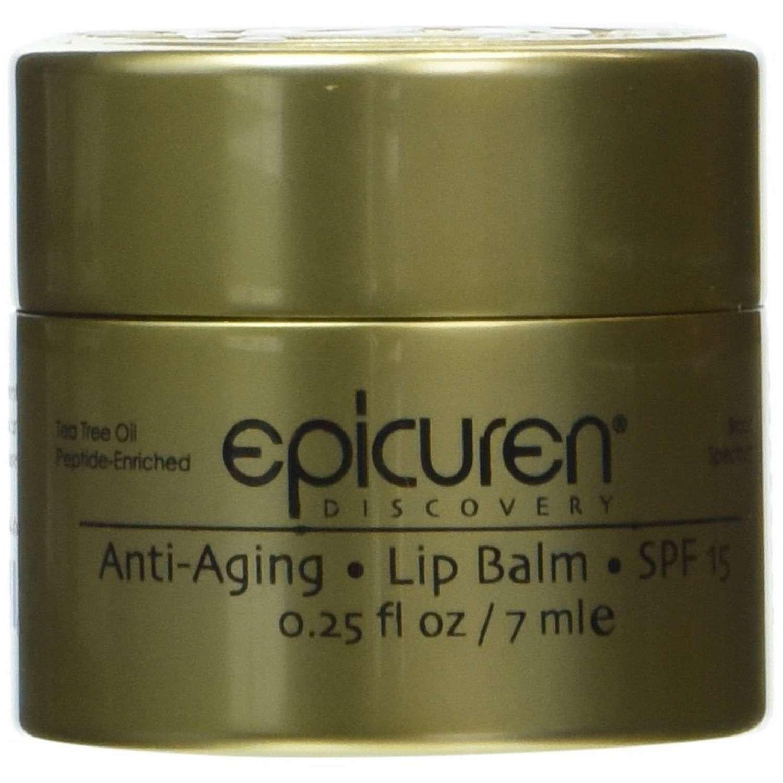 epicuren Discovery Anti-Aging Lip Balm SPF 15 [Pot] (0.25 fl oz / 7 ml)