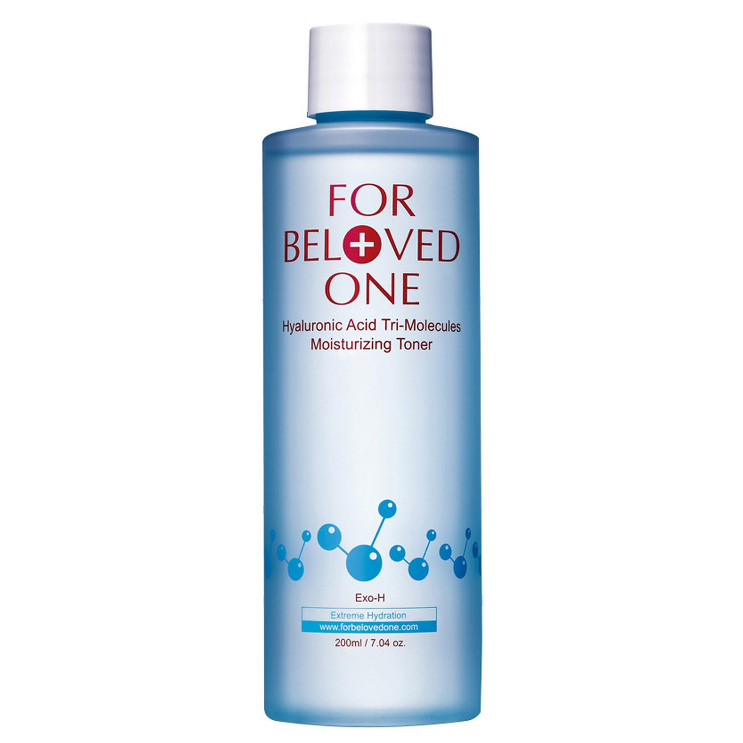 For Beloved One Hyaluronic Acid Tri-Molecules Moisturizing Toner (200 ml / 7.04 oz)