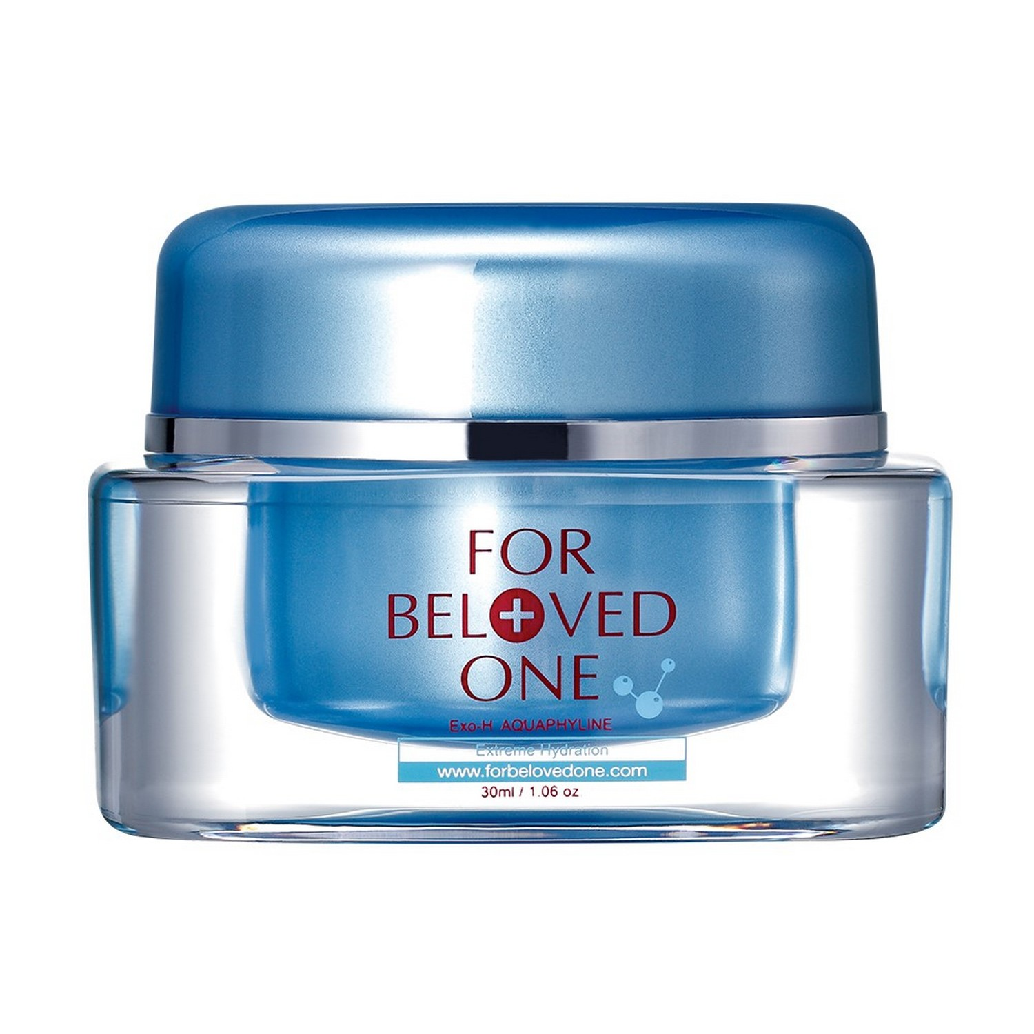 For Beloved One Hyaluronic Acid Tri-Molecules Moisturizing Surge Cream (1.06 oz / 30 ml)