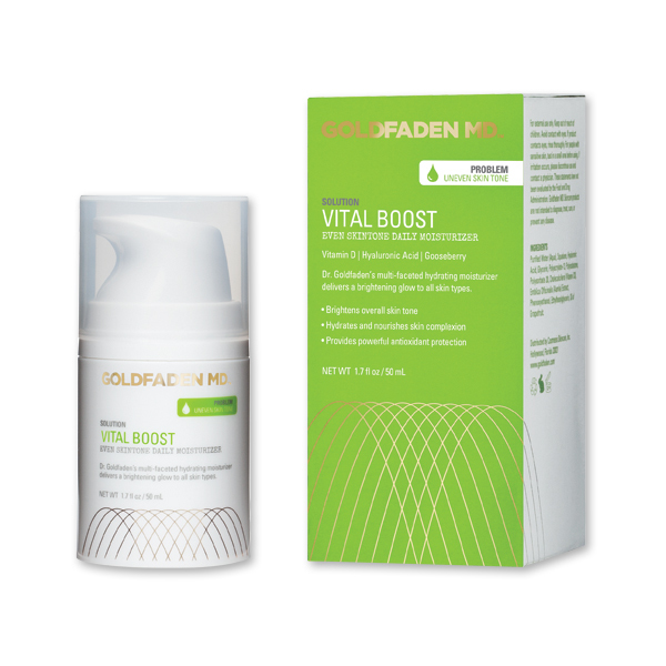 Goldfaden MD VITAL BOOST - EVEN SKINTONE DAILY MOISTURIZER (50 ml / 1.7 fl oz)