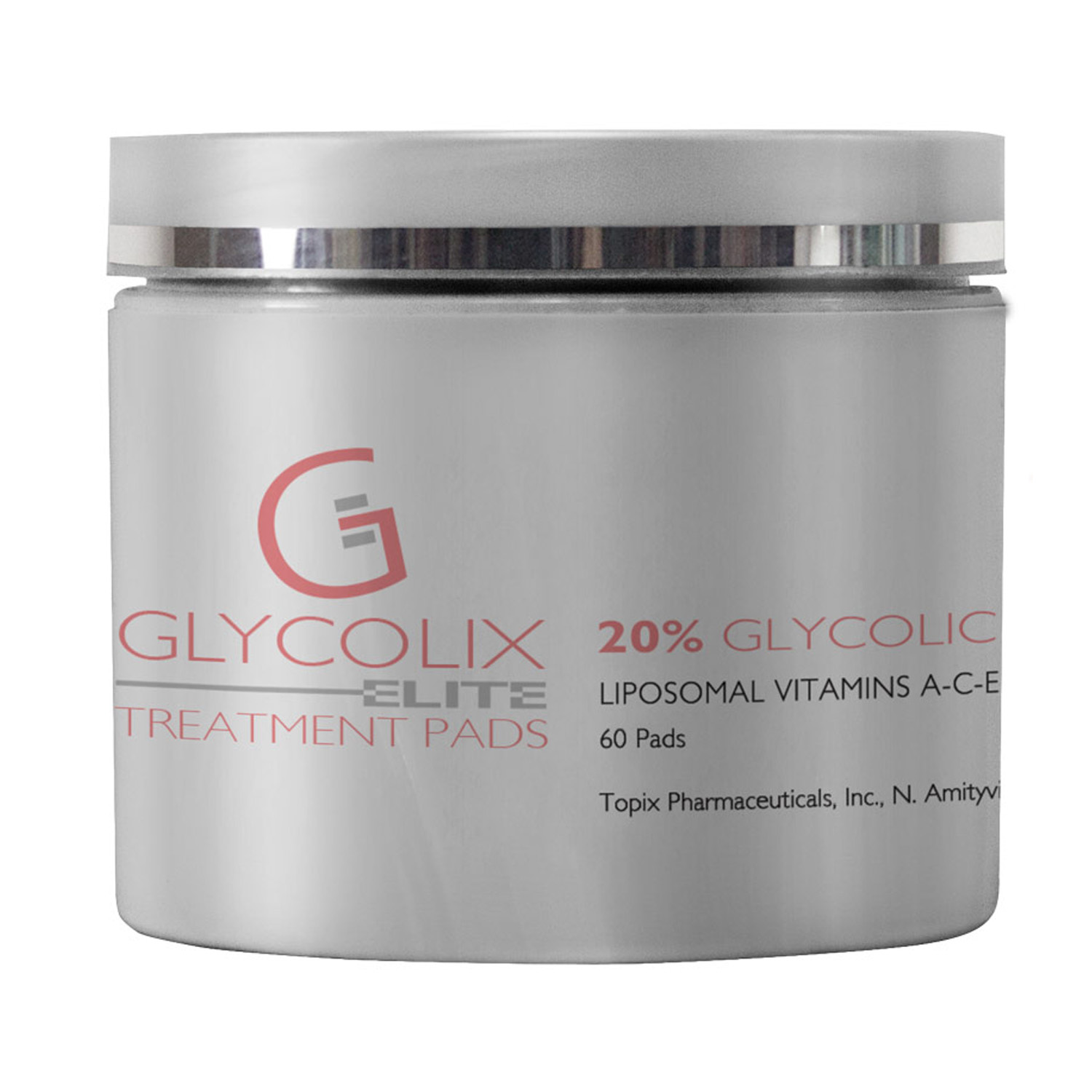Glycolix ELITE TREATMENT PADS 20% (60 Pads)