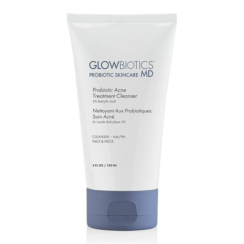 GLOWBIOTICS MD Probiotic Acne Treatment Cleanser (5 fl oz / 150 ml)