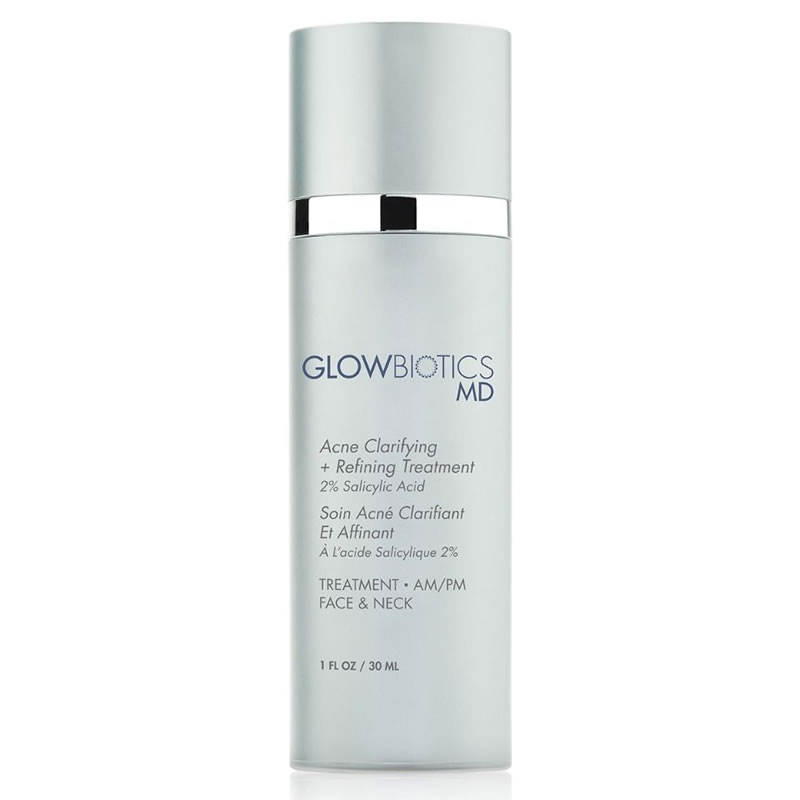 GLOWBIOTICS MD LET ME CLARIFY Acne Clarifying + Refining Treatment (1 fl oz / 30 ml)