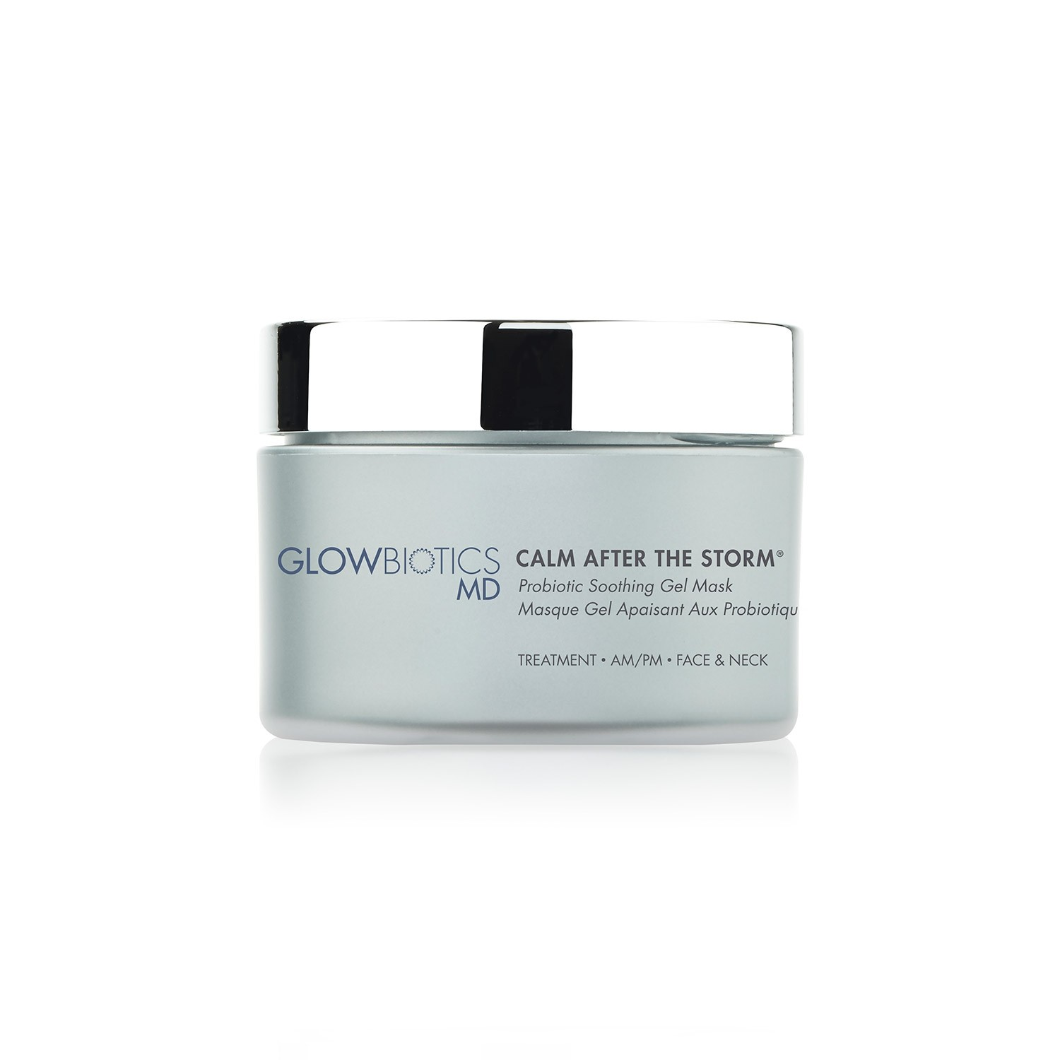 GLOWBIOTICS MD CALM AFTER THE STORM Probiotic Soothing Gel Mask (1.8 fl oz / 53 ml)
