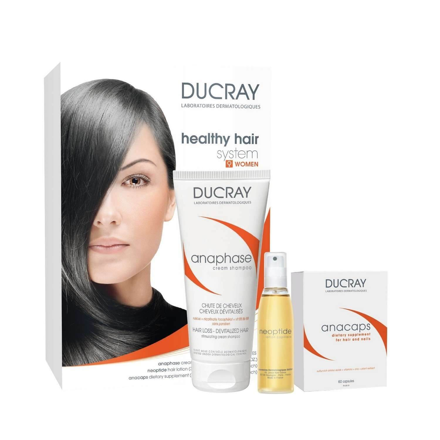 Ducray DUCRAY healthy hair system - WOMEN (set)
