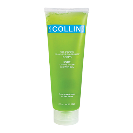 """""""G.M. Collin BODY ''CITRUS FRESH'' SHOWER GEL gently cleanses the skin while maintaining its natural balance, integrity and hydration levels."""""""