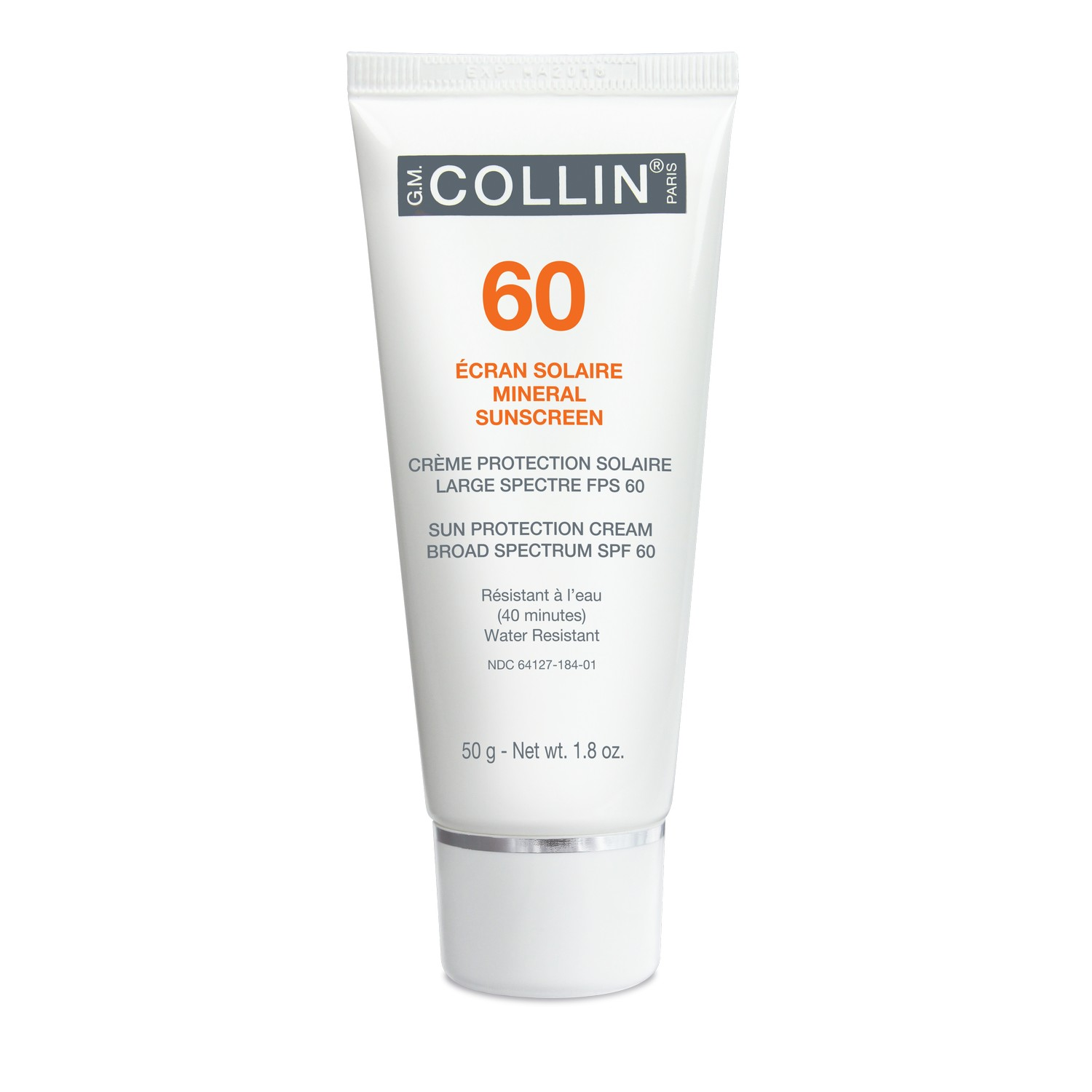 GM Collin Skincare 60 MINERAL SUNSCREEN (50 g / 1.8 oz)