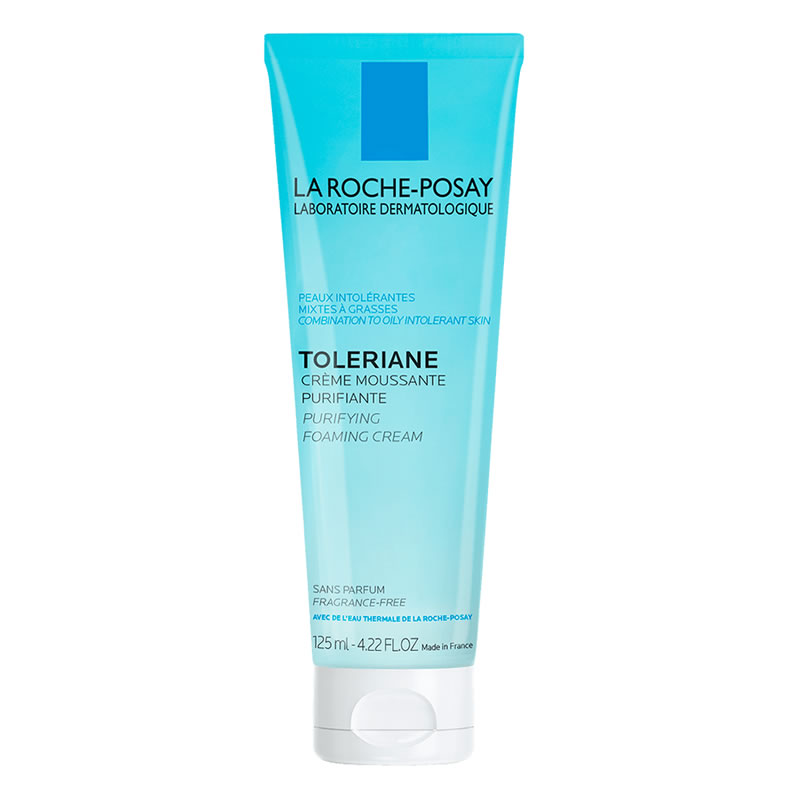 La Roche-Posay TOLERIANE PURIFYING FOAMING CREAM (125 ml / 4.22 fl oz)