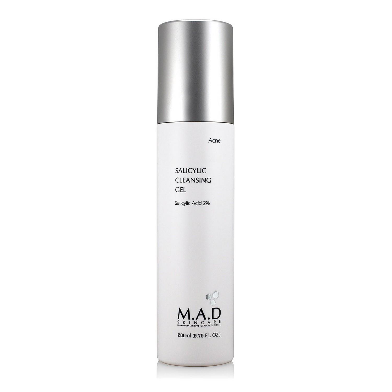 M.A.D SKINCARE SALICYLIC CLEANSING GEL (200 ml / 6.75 fl oz)