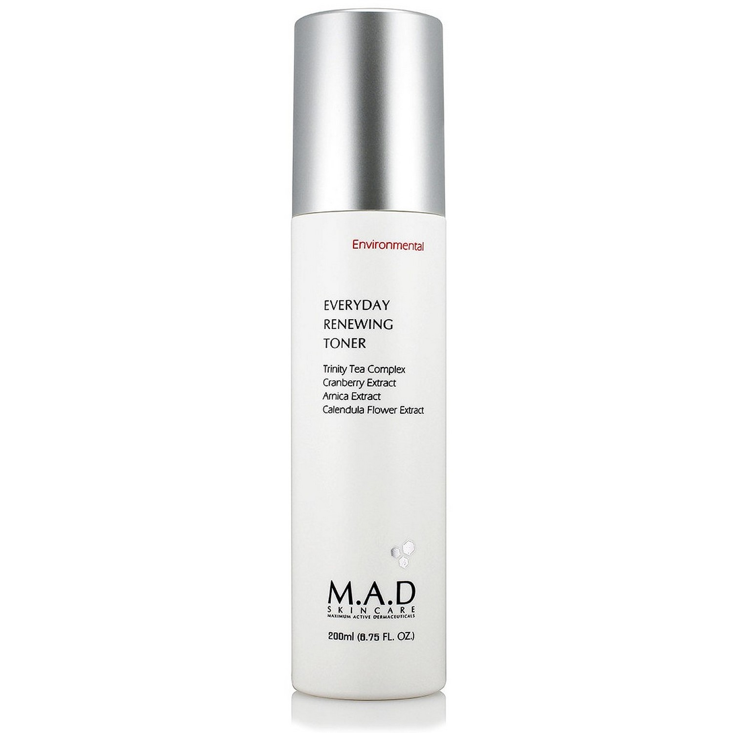 M.A.D SKINCARE EVERYDAY RENEWING TONER (200 ml / 6.75 fl oz)