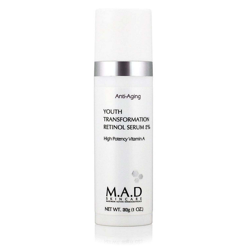 M.A.D SKINCARE YOUTH TRANSFORMATION RETINOL SERUM 2% (30 g / 1.0 oz)