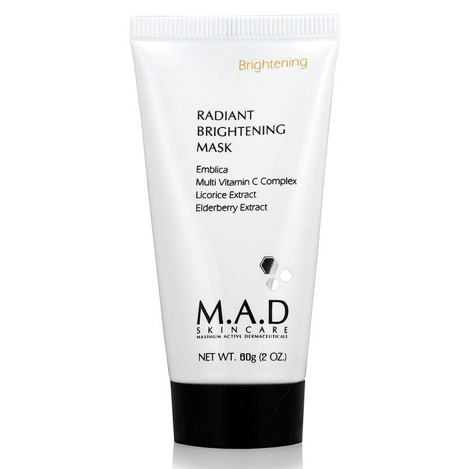 M.A.D SKINCARE RADIANT BRIGHTENING MASK (60 g / 2.0 oz)