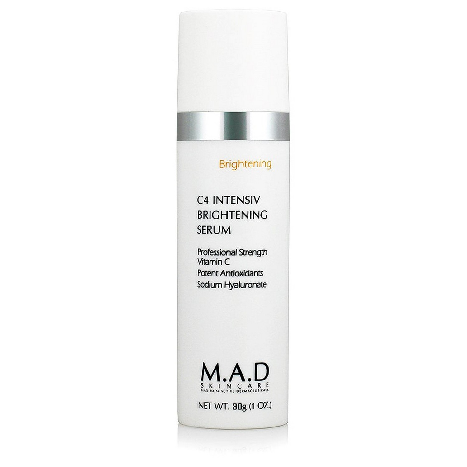 M.A.D SKINCARE C4 INTENSIV BRIGHTENING SERUM (30 g / 1.0 oz)