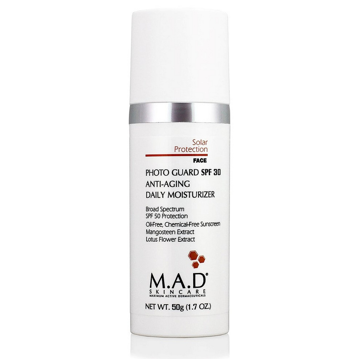 M.A.D SKINCARE PHOTO GUARD SPF 30 ANTI-AGING DAILY MOISTURIZER (50 g / 1.7 oz)