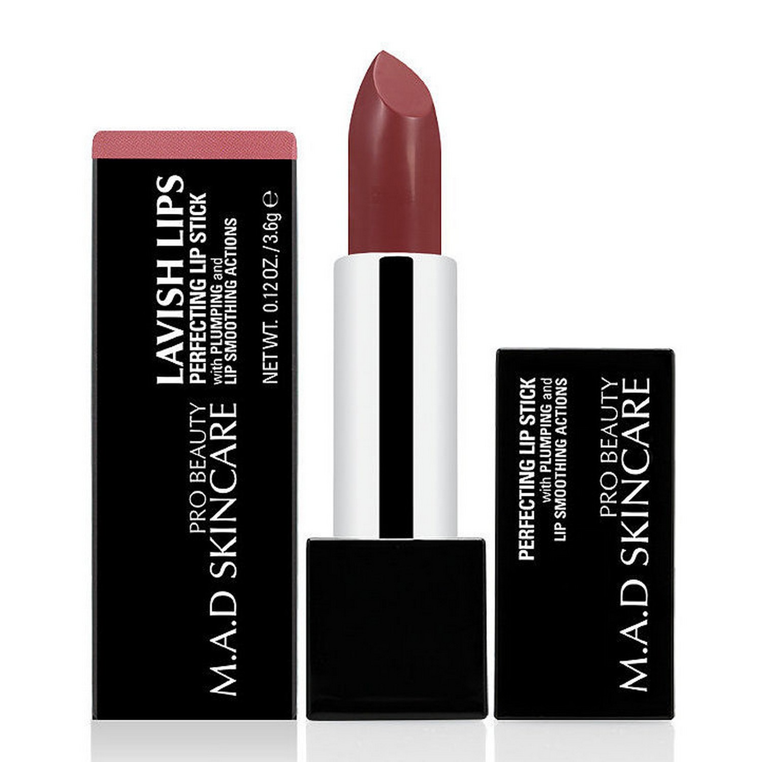 M.A.D SKINCARE LAVISH LIPS PERFECTING LIP STICK - WHIMSICAL (0.12 oz / 3.6 g)