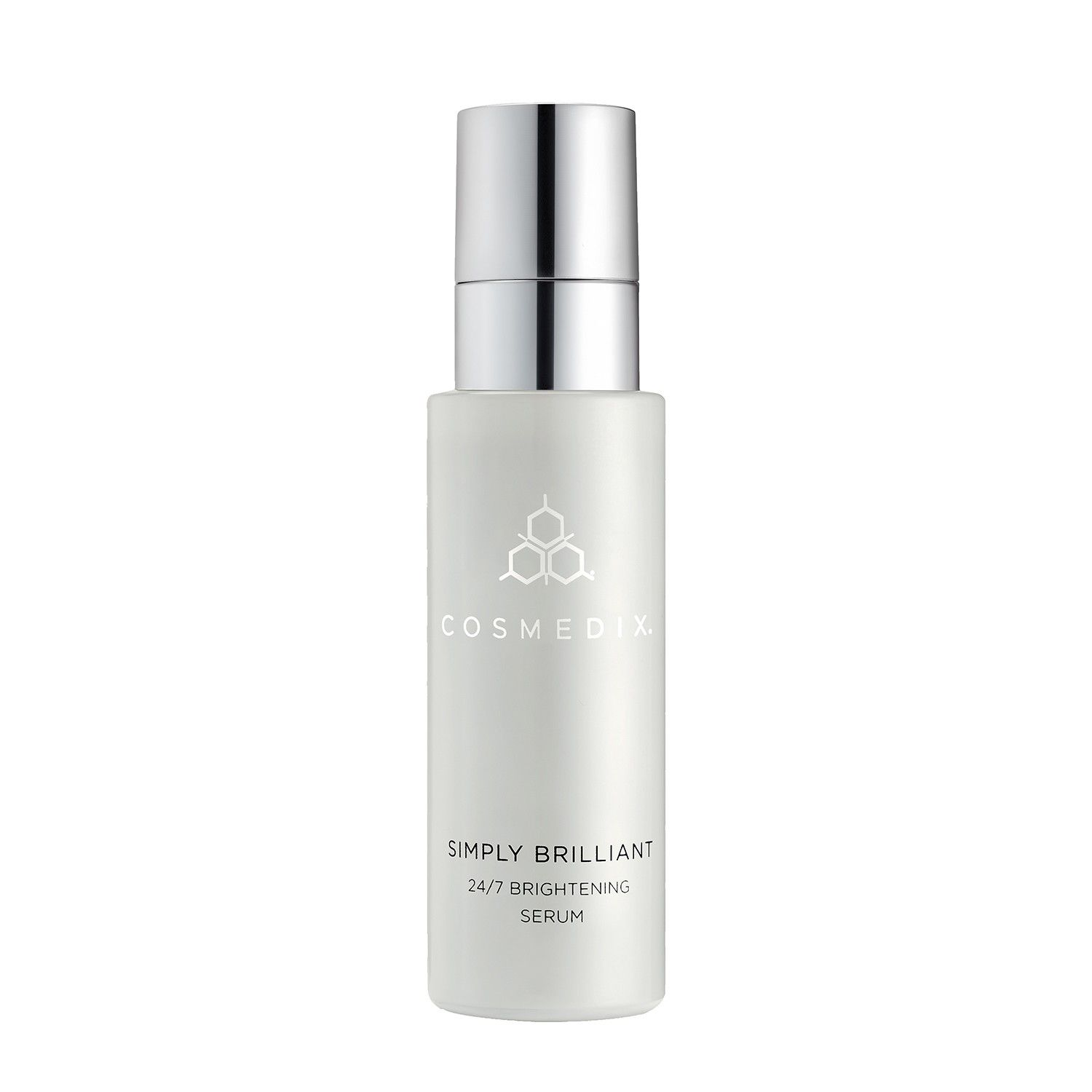 CosMedix SIMPLY BRILLIANT 24/7 BRIGHTENING SERUM (1.0 fl oz / 30 ml)