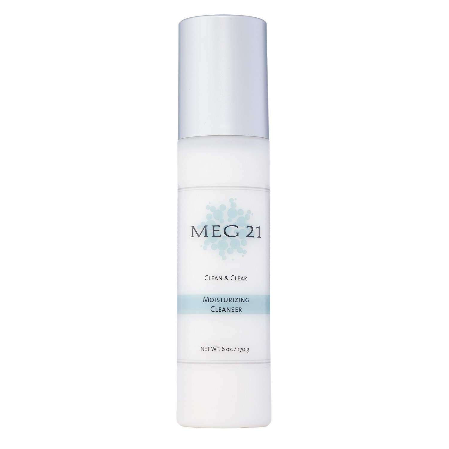 MEG 21 CLEAN & CLEAR MOISTURIZING CLEANSER (6.0 oz / 170 g)