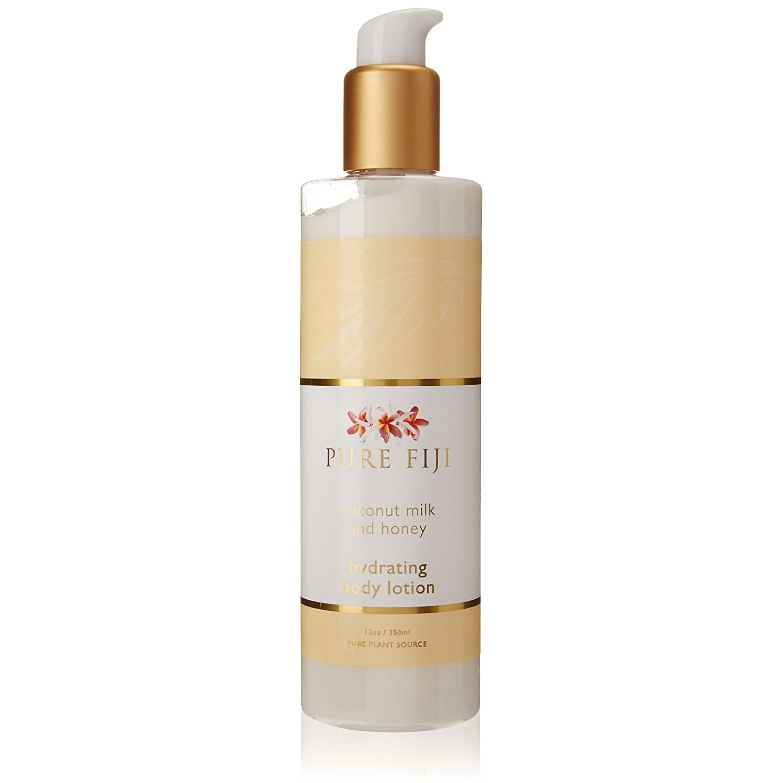 Pure Fiji coconut milk and honey hydrating body lotion (12.0 oz / 350 ml)