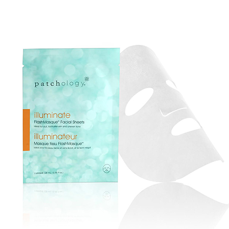 Patchology illuminate - FlashMasque Facial Sheets (28 ml / 0.95 fl oz)