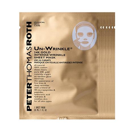 Peter Thomas Roth Un-Wrinkle 24k Gold Intense Sheet Mask (6 Sheet Masks)