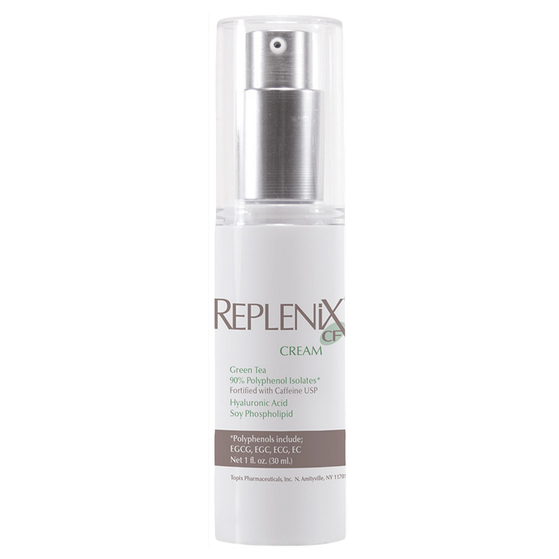 Replenix REPLENiX CF CREAM Green Tea Fortified with Caffeine USP (1.0 fl oz / 30 ml)