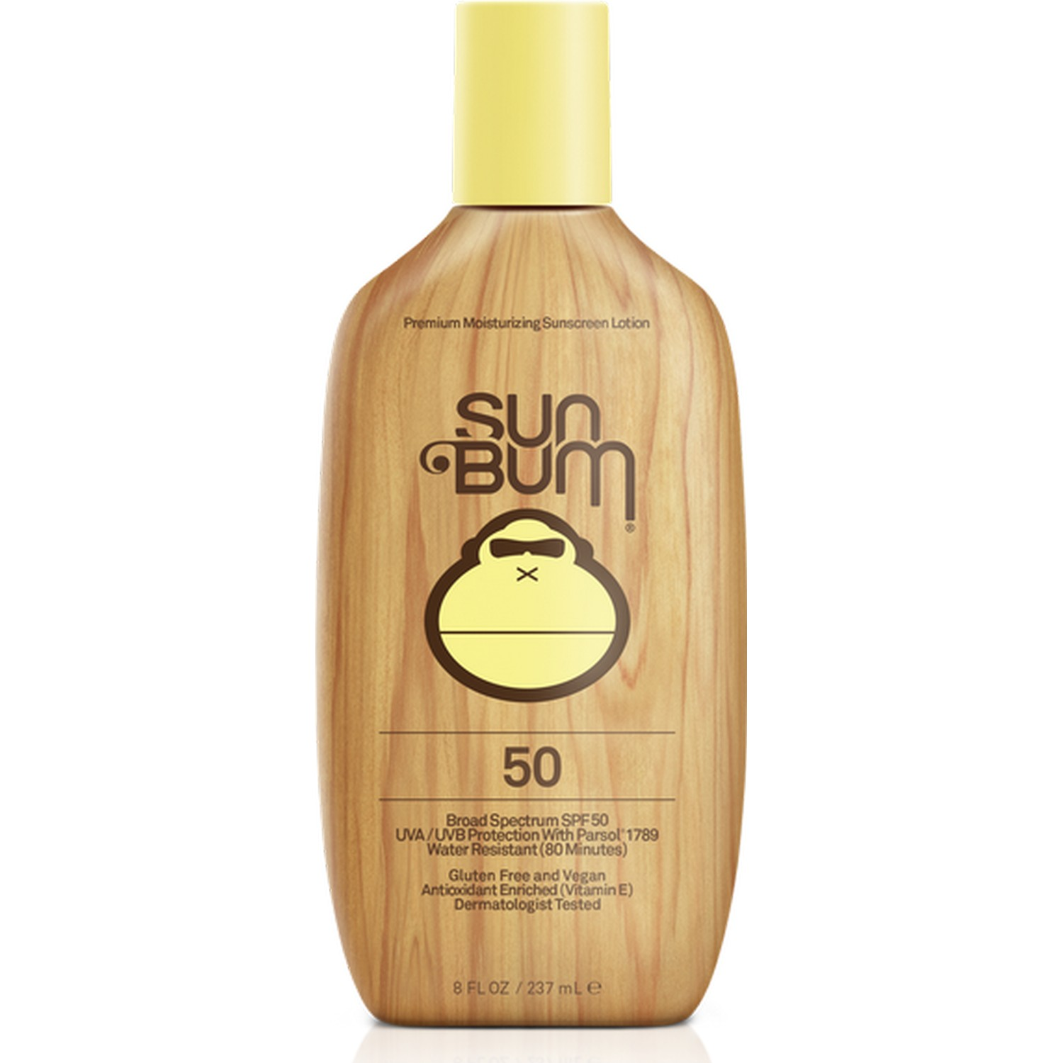 Sun Bum Premium Moisturizing Sunscreen Lotion 50 Broad Spectrum SPF 50 (8.0 fl oz / 237 ml)