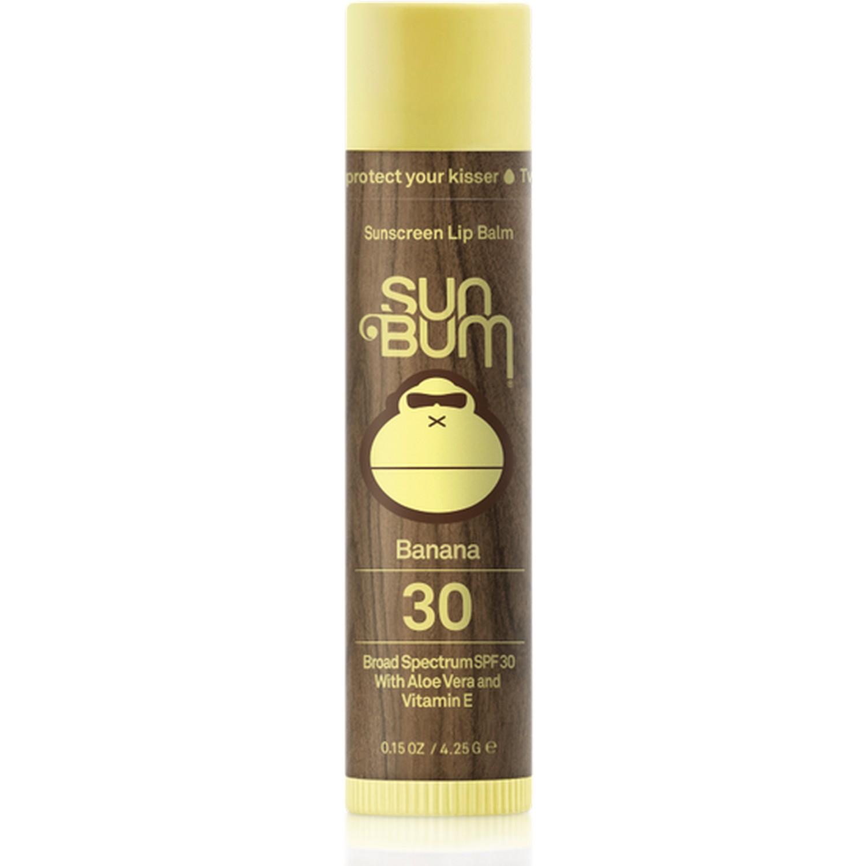 Sun Bum Sunscreen Lip Balm Banana 30 Broad Spectrum SPF 30 (0.15 oz / 4.25 g)