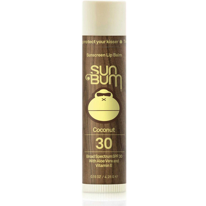 Sun Bum Sunscreen Lip Balm Coconut 30 Broad Spectrum SPF 30 (0.15 oz / 4.25 g)