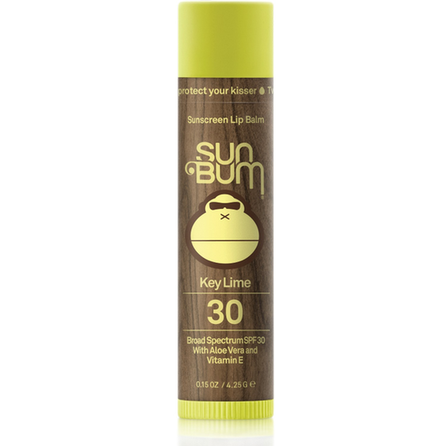 Sun Bum Sunscreen Lip Balm Key Lime 30 Broad Spectrum SPF 30 (0.15 oz / 4.25 g)
