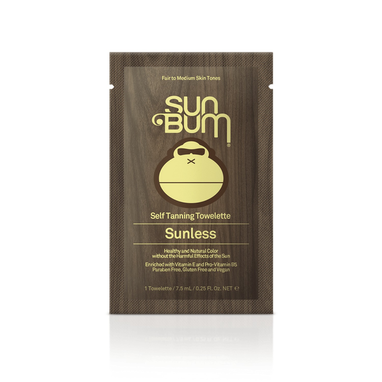 Sun Bum Self Tanning Towelette Sunless (5 x 7.5 ml / 0.25 fl oz)