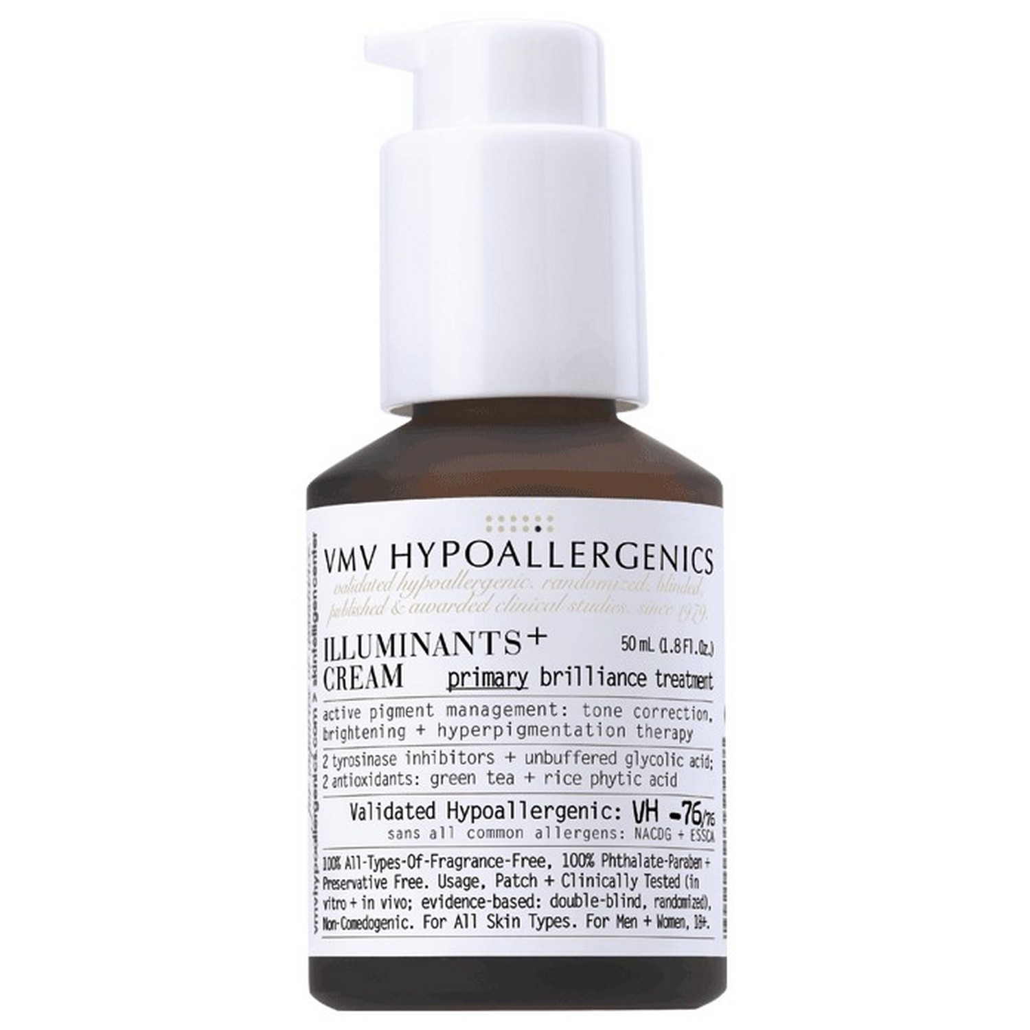 VMV Hypoallergenics ILLUMINANTS+ CREAM (50 ml / 1.8 fl oz)