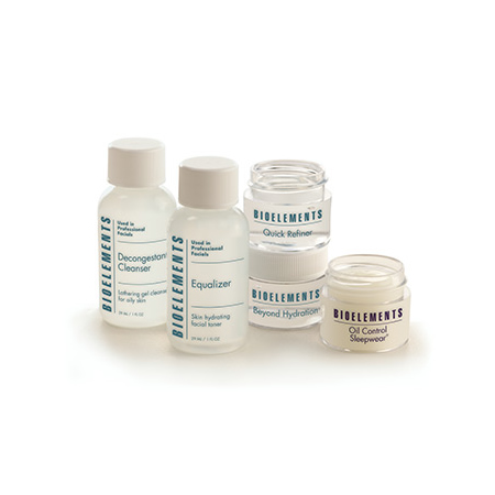 """""""Bioelements Travel Light Kit for Oily, Very Oily Skin is a complete regimen utilizing travel-friendly sized products."""""""