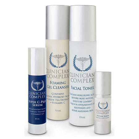 Clinicians Complex ANTI-AGING KIT COMBINATION/OILY SKIN (set)
