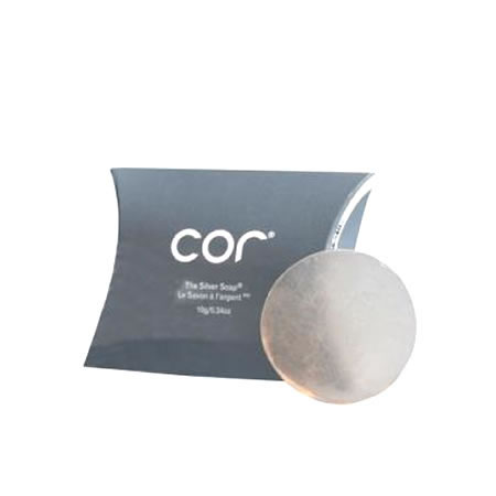 Cor Silver The Silver Soap (10 g / 0.34 oz)