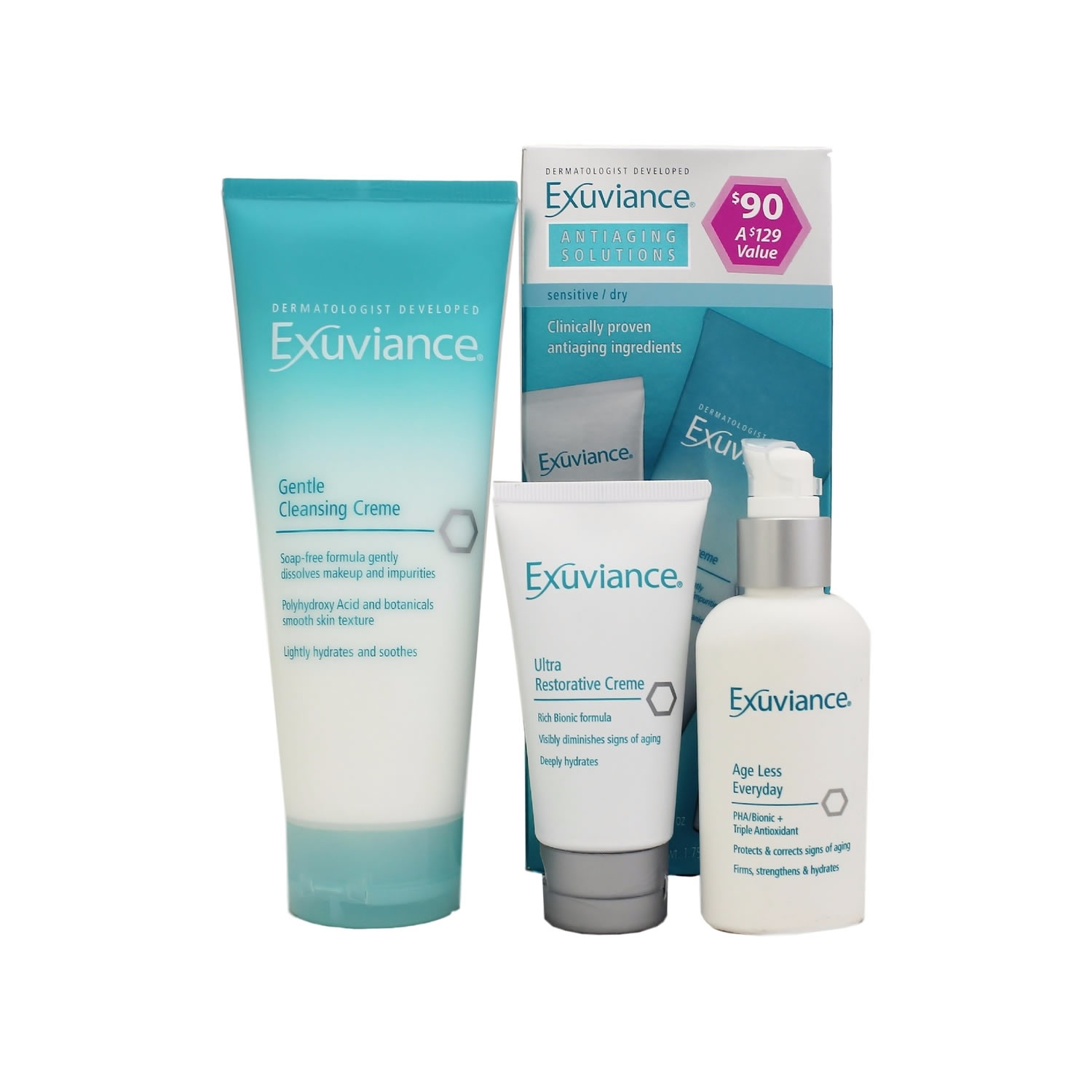 Exuviance ANTIAGING SOLUTIONS (set)