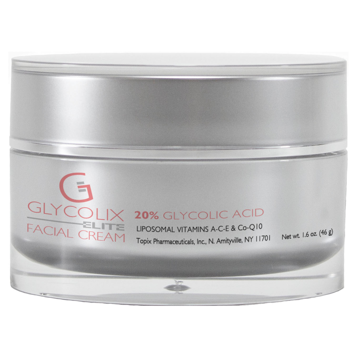 Glycolix ELITE FACIAL CREAM 20% (1.6 oz / 46 g)
