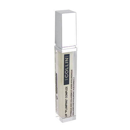 """""""G.M. Collin LIP """"""""PLUMPING"""""""" COMPLEX features a combination of Collagen and Hyaluronic Acid microspheres to help optimize skin condition and plump up the lips."""""""