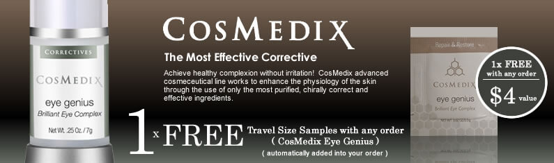 CosMedix Skincare Sale. Free Sample!