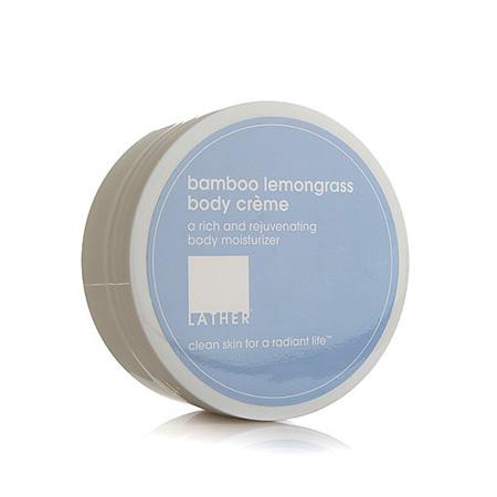 Buy LATHER bamboo lemongrass body creme (4 oz)