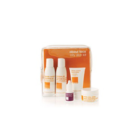 LATHER about face combination skin kit (set)