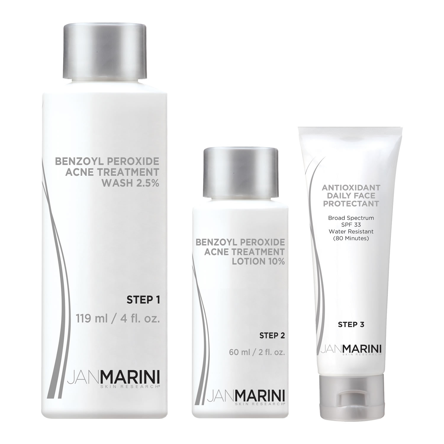 Jan Marini TEEN CLEAN ACNE SYSTEM 10 % (3 pcs)